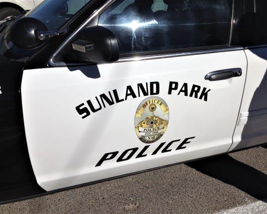 Sunland Park police car.