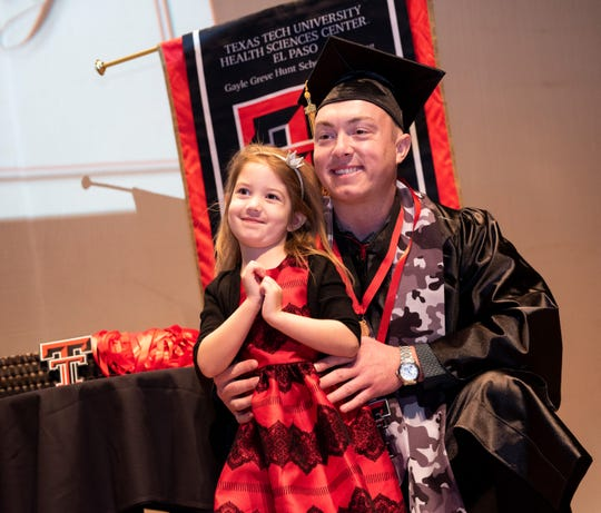 It was a day for family pride and smiles as the Texas Tech University Health Sciences Center El Paso Gayle Greve Hunt School of Nursing held its December 2018 Commencement and Pinning Ceremony on Saturday, Dec. 15, 2018, at the Plaza Theatre.