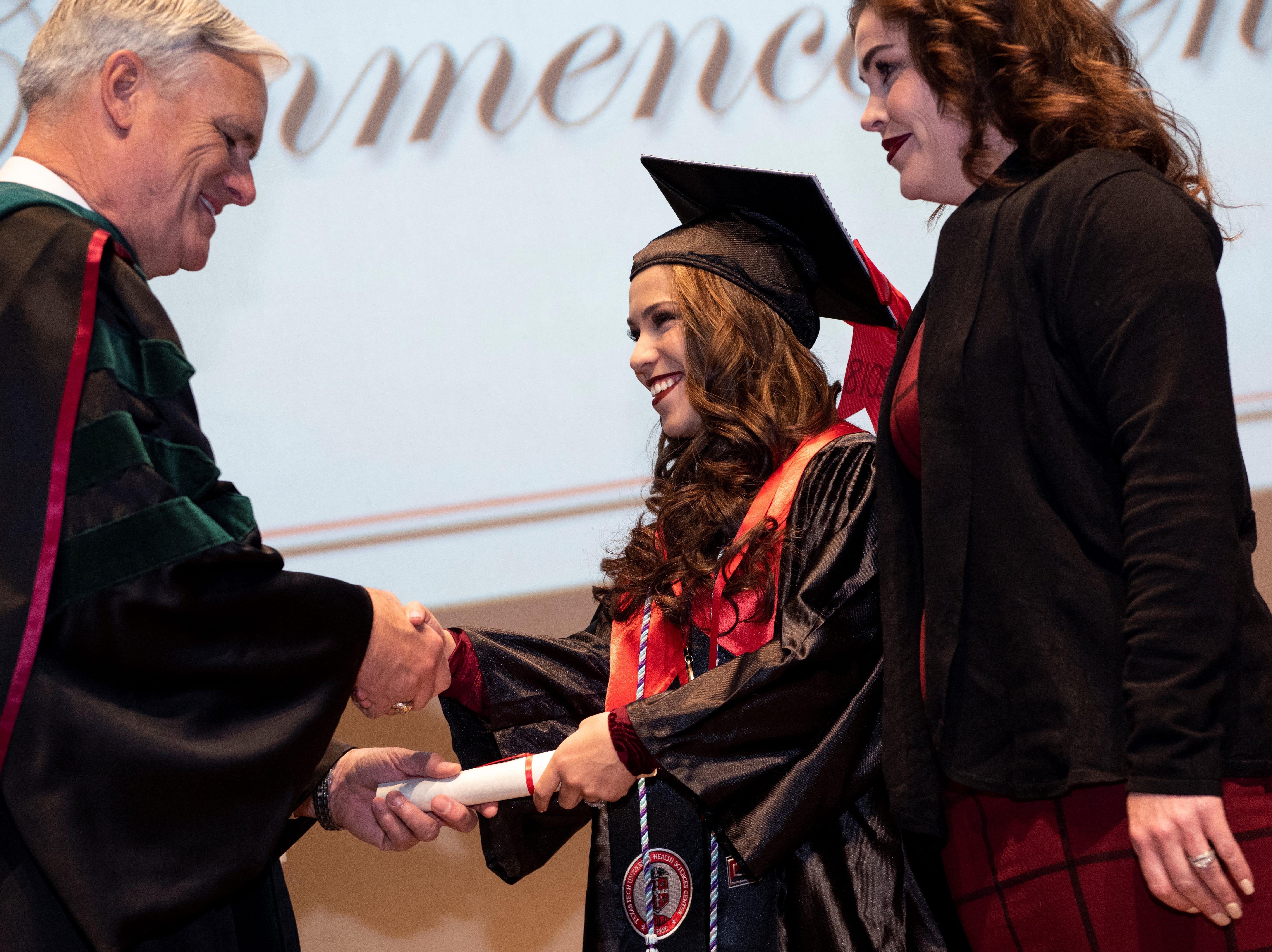 Texas Tech's Gayle Greve Hunt School of Nursing celebrates commencement, pinning