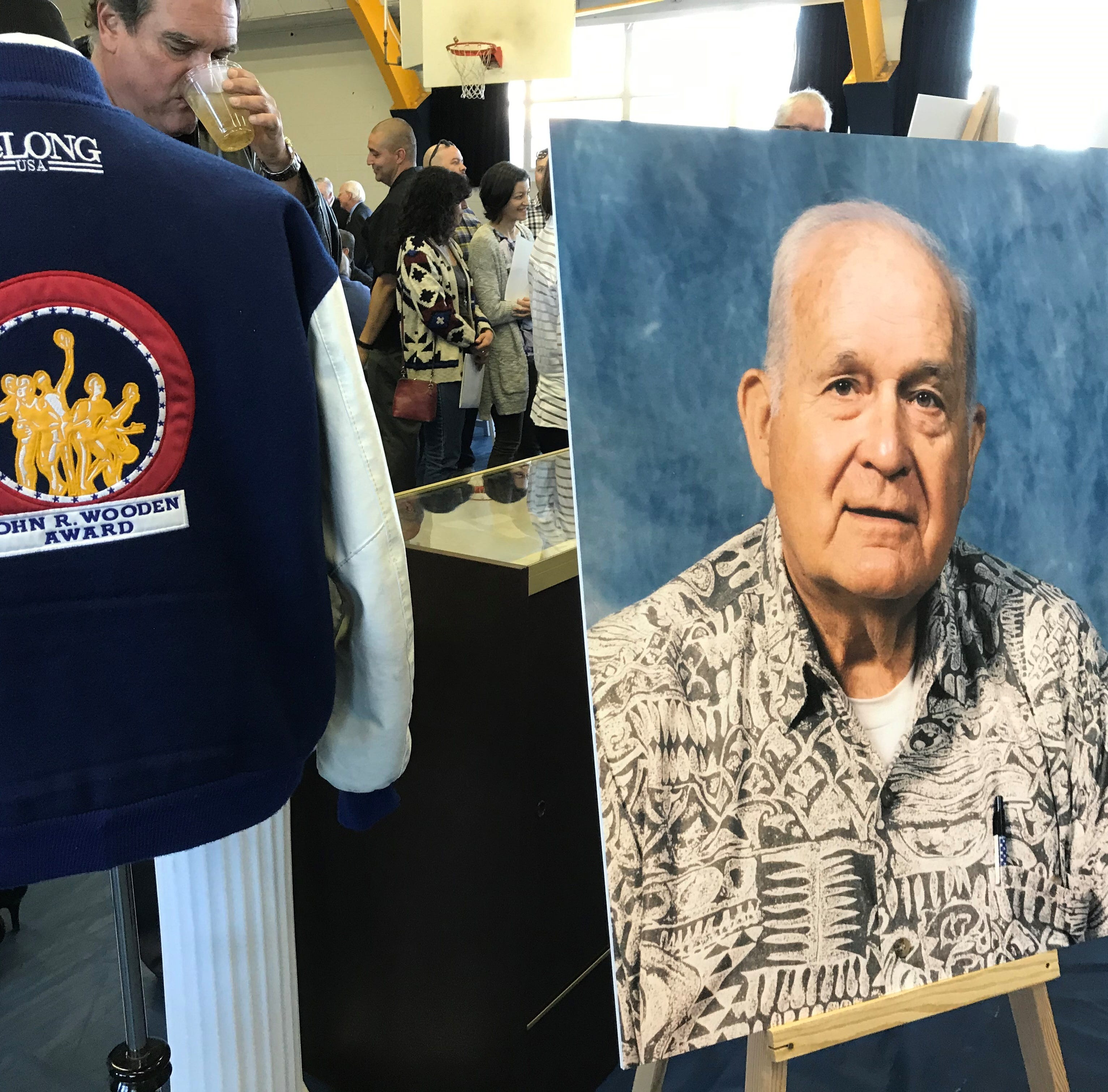 Hundreds celebrate life, coaching legacy of Lou Cvijanovich at Santa Clara High