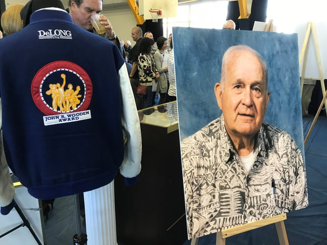 Lou Cvijanovich, who died on Nov. 24 ate age 92, was remembered by family, friends, former players and coaches during a celebration of his life Saturday at Santa Clara High.