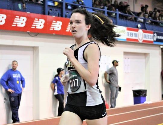Nanuet's Sarah Boyle runs mile at 2018 Armory Coaches Hall of Fame Invitational.