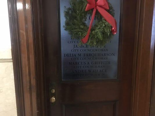 Council door