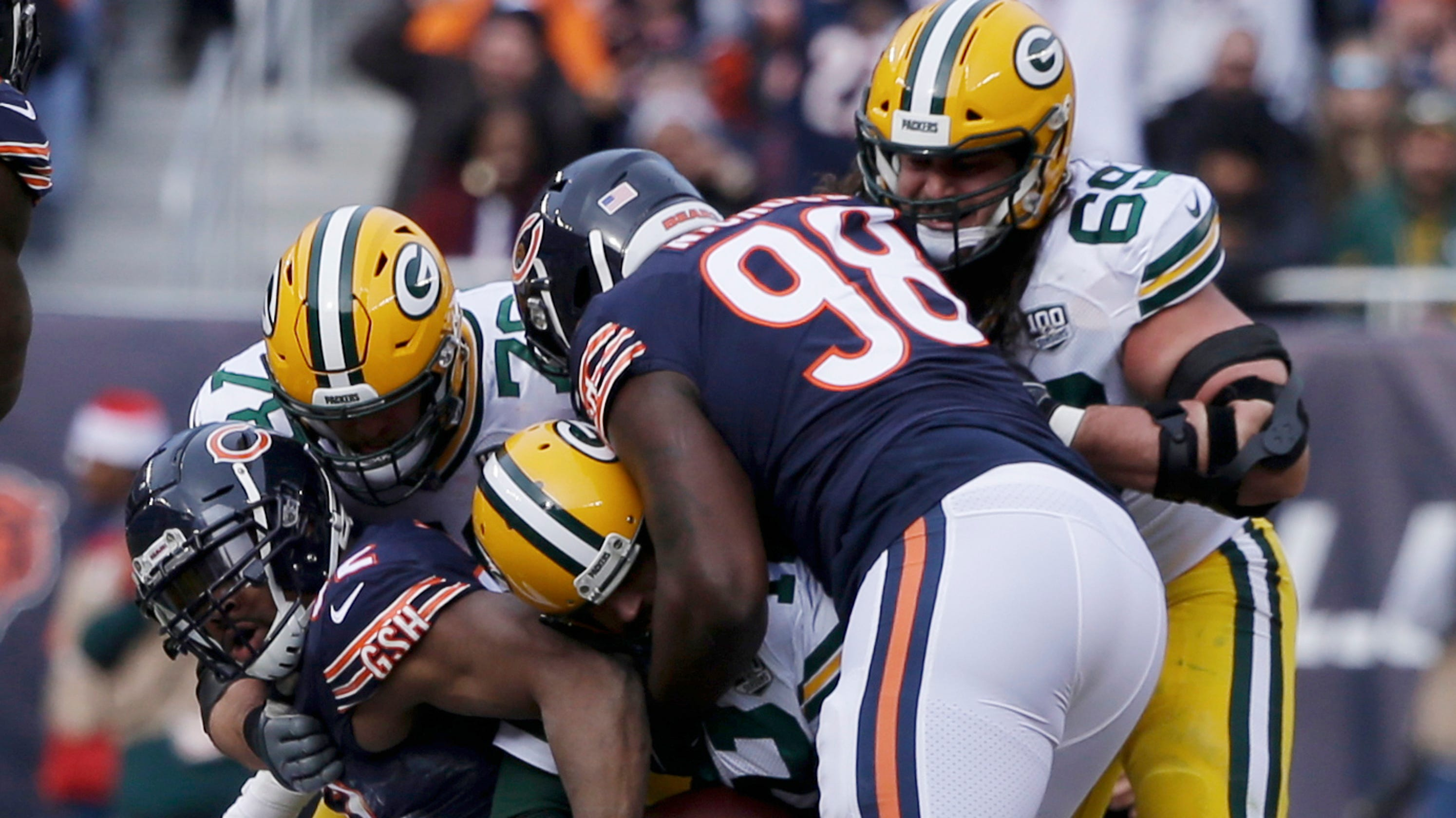 9c1482b0 NFL: Chicago Bears beat the Green Bay Packers to clinch NFC North