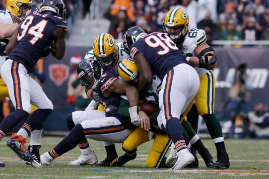 NFL  Chicago Bears beat the Green Bay Packers to clinch NFC North 993b9d701