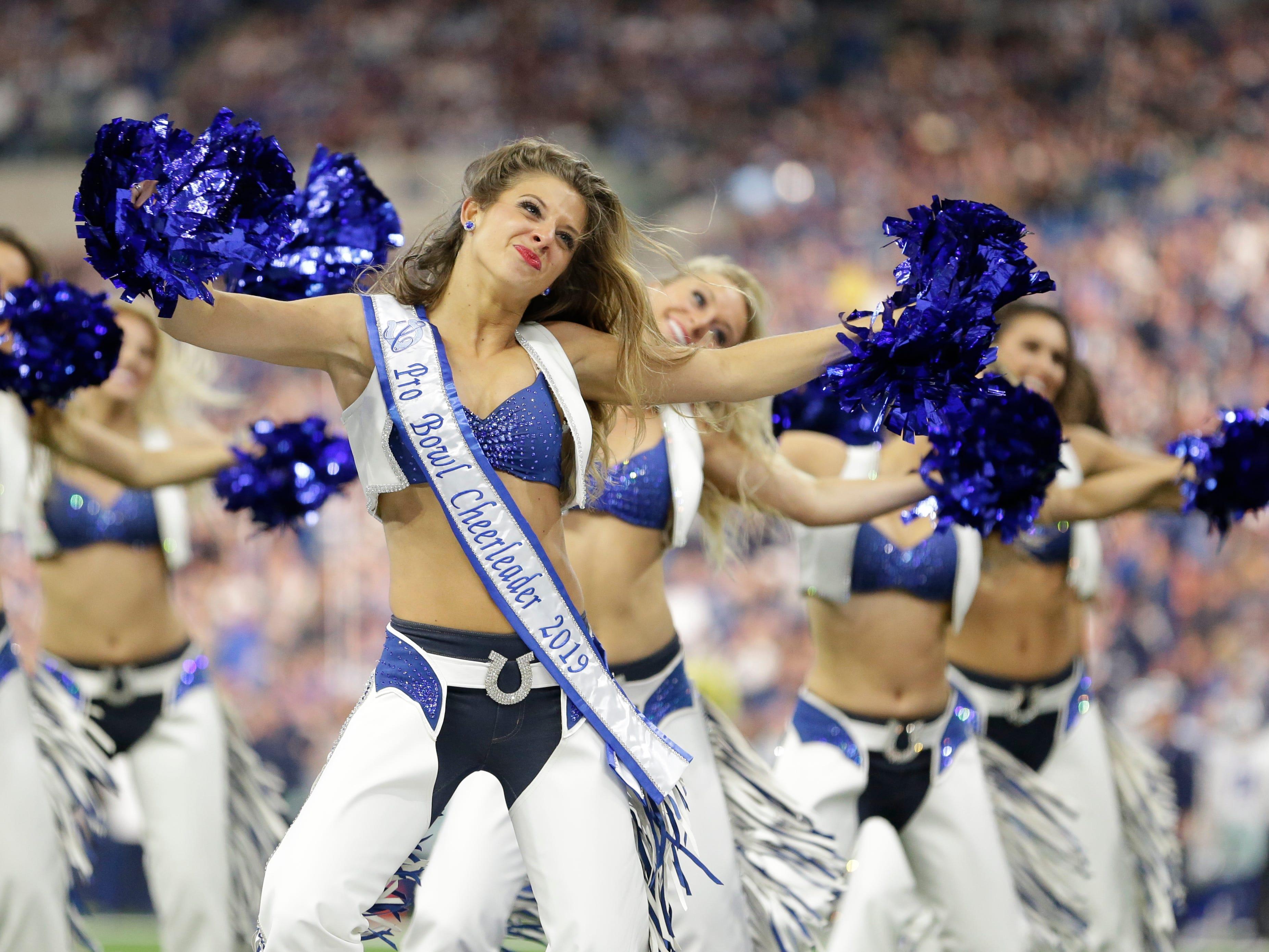 Week 15: Indianapolis Colts cheerleaders
