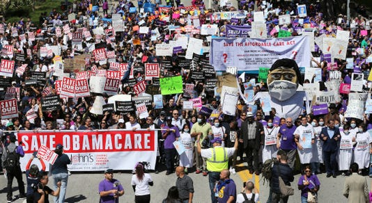 Ap Health Care Rallies A Usa Ca