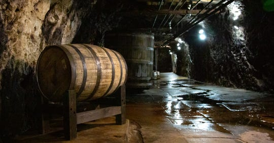 The caves hand-dug in the 1800's at the D.G. Yuengling & Son, Inc. brewery were recently used to age a limited edition Bourbon Barrel Reserve beer being released to celebrate the Pottsville, Pennsylvania brewery's 190th anniversary.