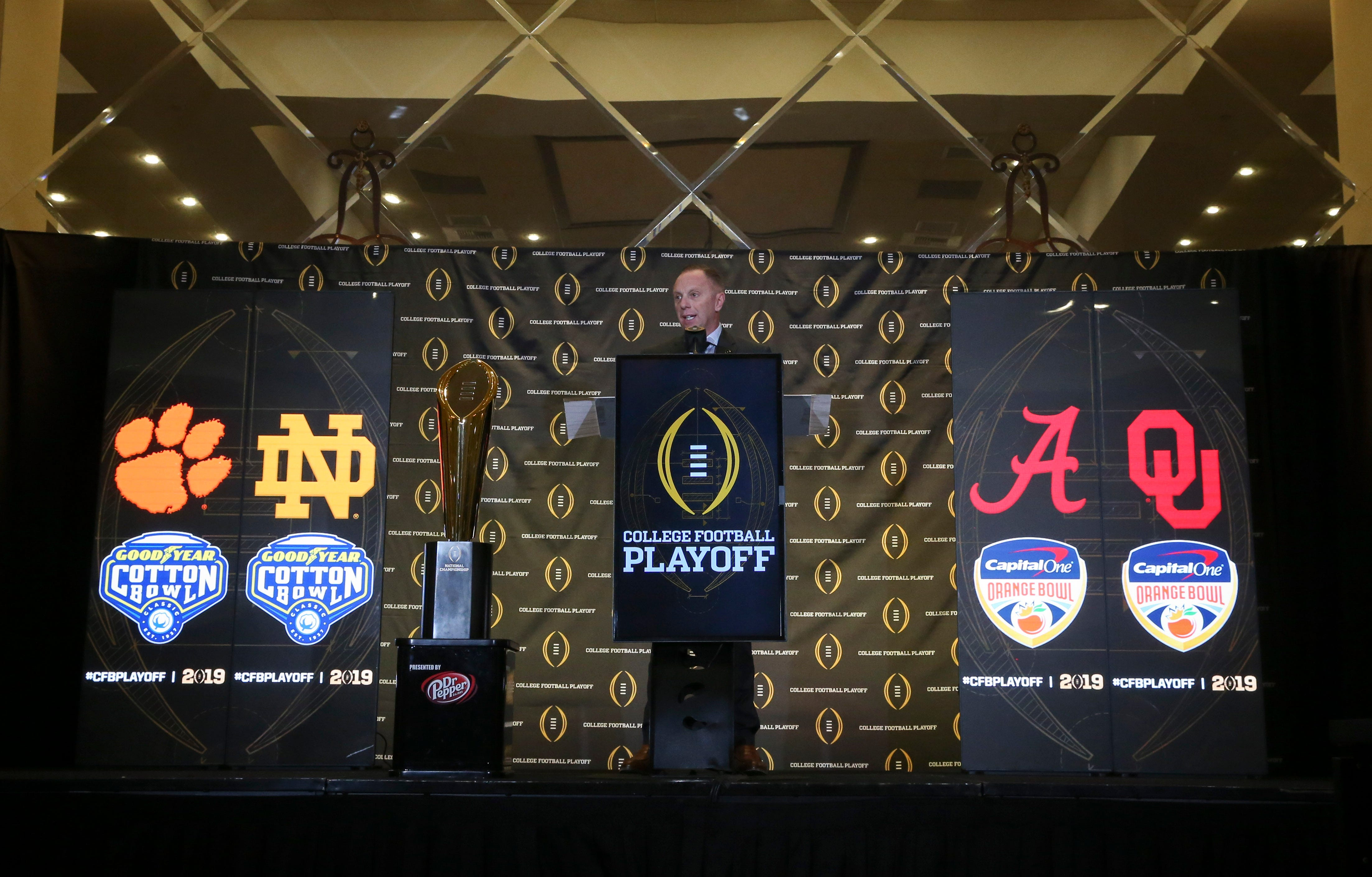'Four works': Expanding College Football Playoff is not on agenda for decision-makers