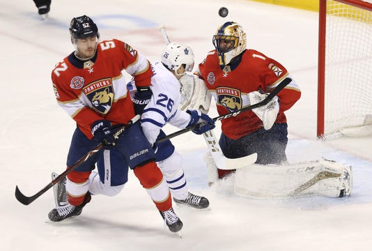 Nhl Toronto Maple Leafs At Florida Panthers