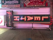 Tom Skibba spotted the Leath Furniture sign on its side in the American Sign Museum's warehouse in Cincinnati.