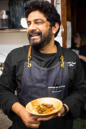 Meherwan Irani, owner and chef of Chai Pani.