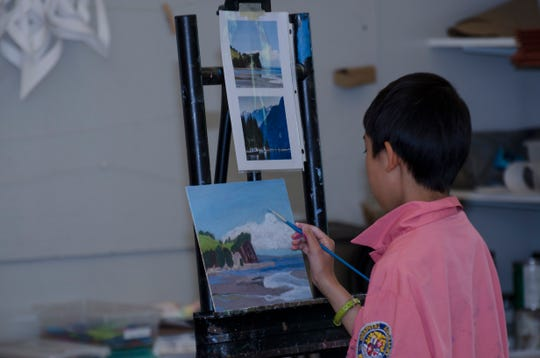The 171 Cedar Arts Center in Corning offers a variety of programs for youths, including painting and drawing.