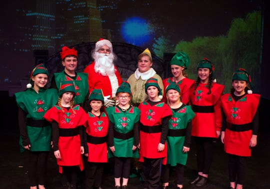 "The Endicott Performing Arts Center staged ""Elf: The Musical Jr."" for the holiday season."
