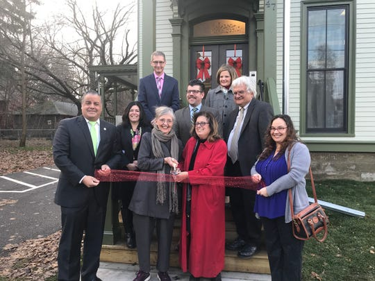 The ribbon-cutting at the new community center at 47 North St.  in Binghamton.