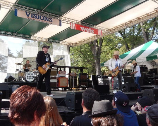 Cheap Trick performed at the Spiedie Fest & Balloon Rally in August.