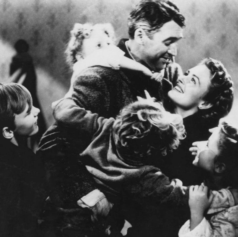 You voted in our Christmas Movie Challenge. Your favorite film is 'It's a Wonderful Life'