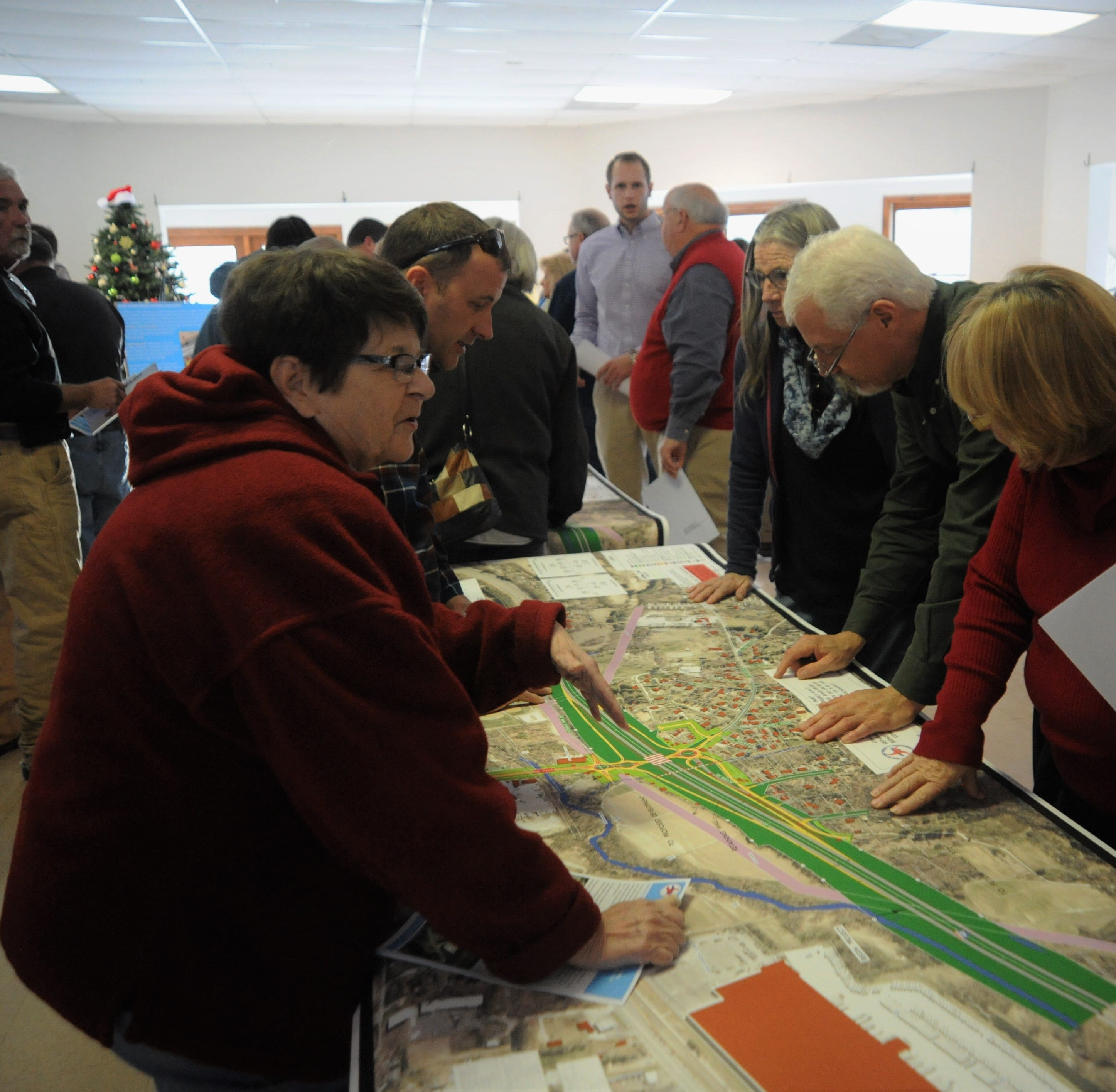 NCDOT unveils potential designs for Blue Ridge Road interchange