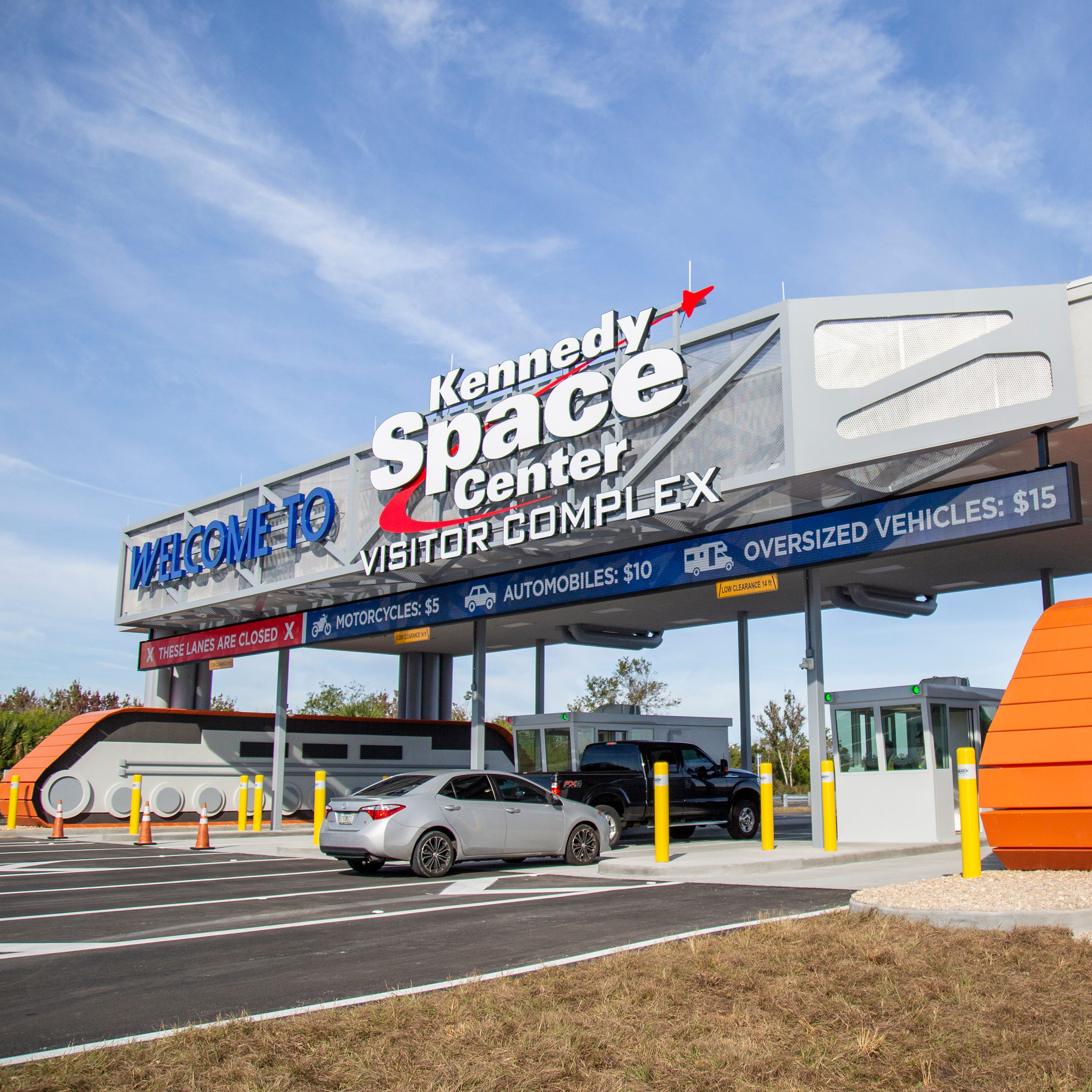 Kennedy Space Center Visitor Complex has a new entrance. Here's where to go.