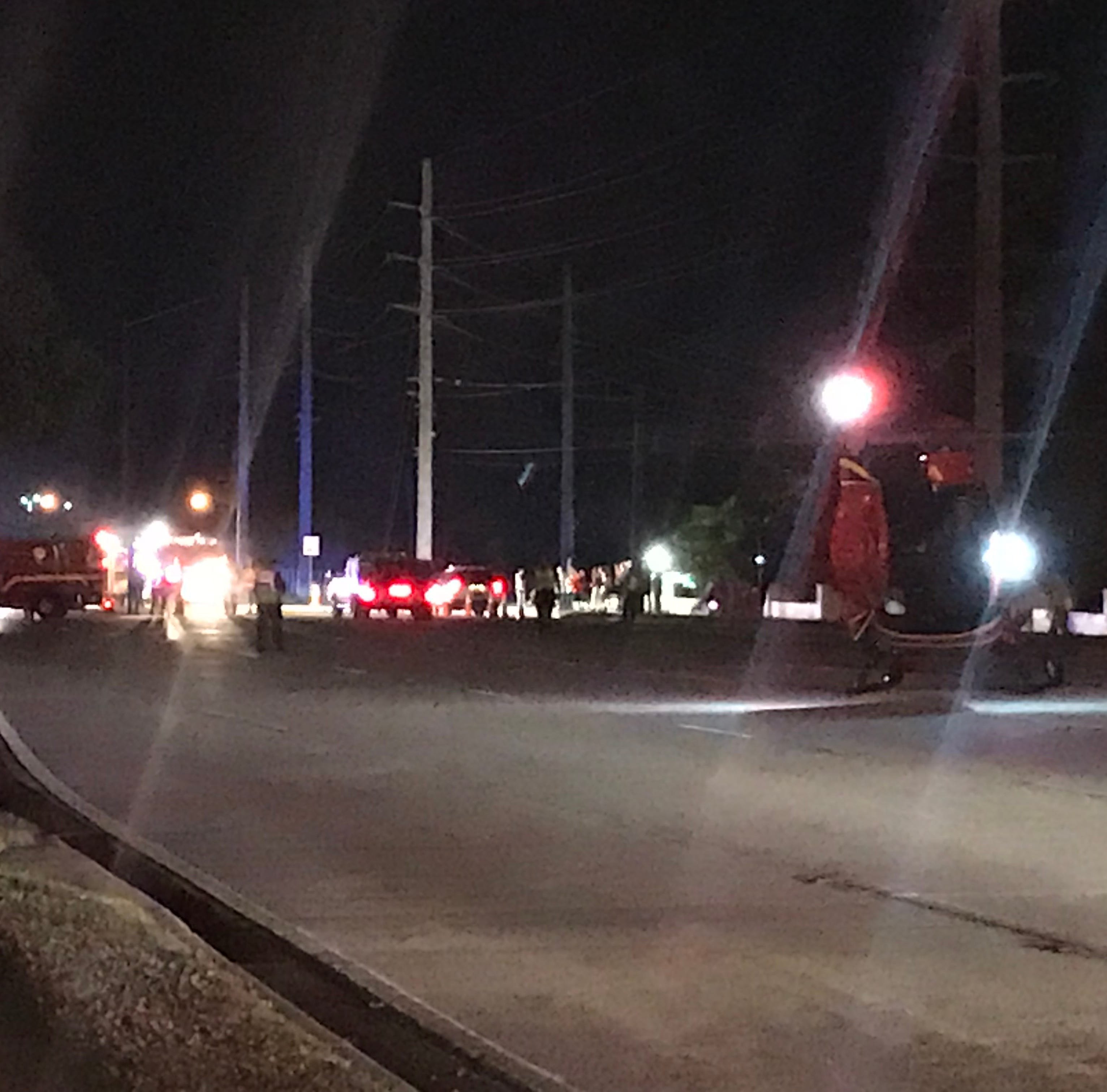 Vehicle strikes two children on South Patrick Drive