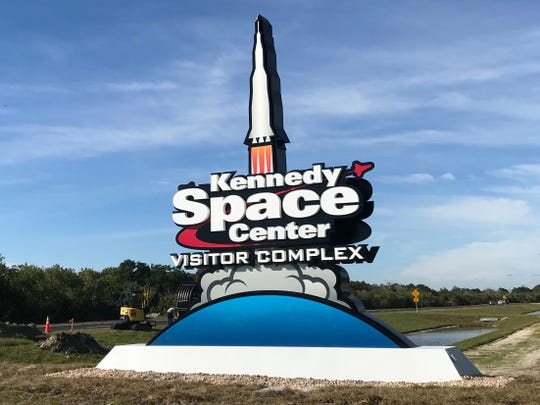 Kennedy Space Center Visitor Complex opened up its new entrance, coming from Space Commerce Way, for guests on Dec. 17.
