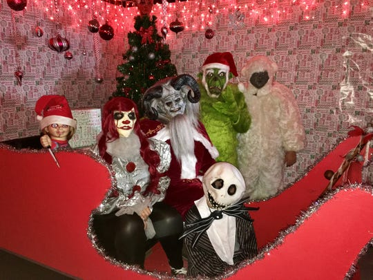 After the family friendly activities, Mr. Boogey's Winter Wonderland features a scary haunt starting at 7 p.m. Saturday.