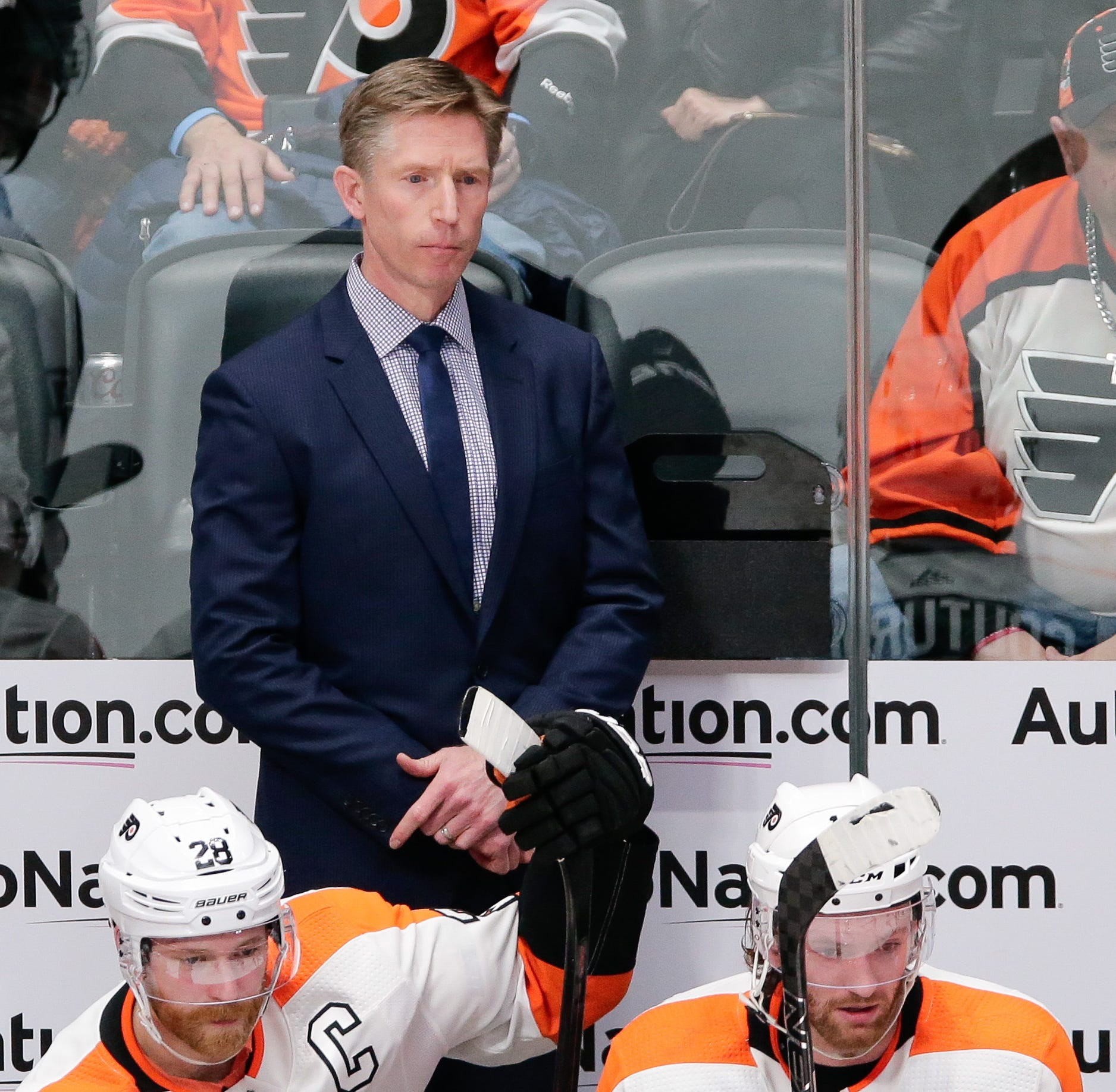 Dave Hakstol replaced by Scott Gordon as Flyers begin search for coach