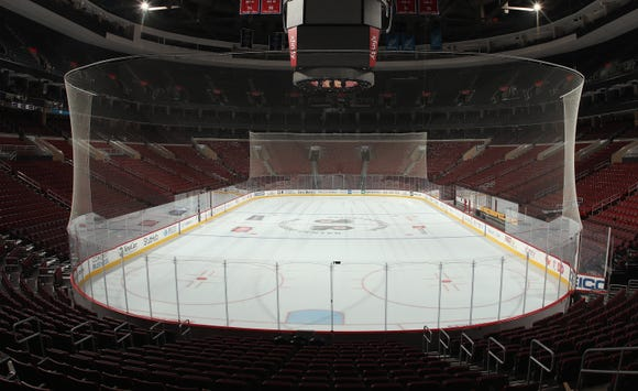 The Flyers will play the first game of the Carter Hart Era Tuesday against the Detroit Red Wings.