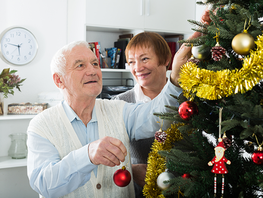 With relatives in town and so many holiday traditions to experience, it's tempting for caregivers to schedule too much — either for themselves to accomplish while providing care, or for their older loved ones to participate in.