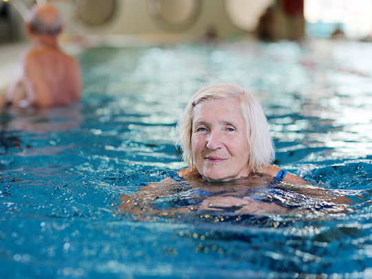 As much as possible given the state of your loved one's health, encourage them to get out of their home and stay active during the day.