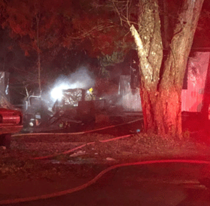Explosion, fire tears through NKY mobile home