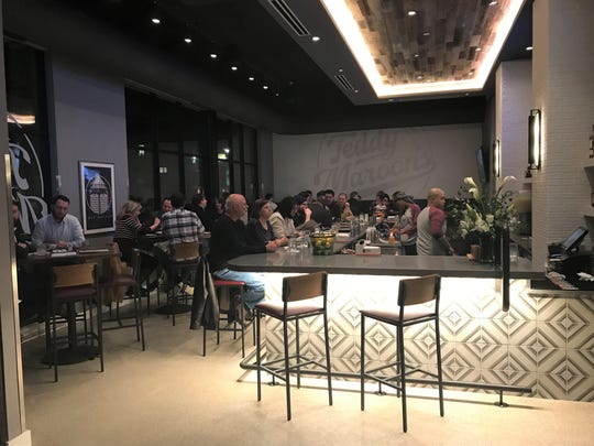 Teddy Maroon's lounge features Happy Hour on Monday through Friday, 2 to 6 p.m.