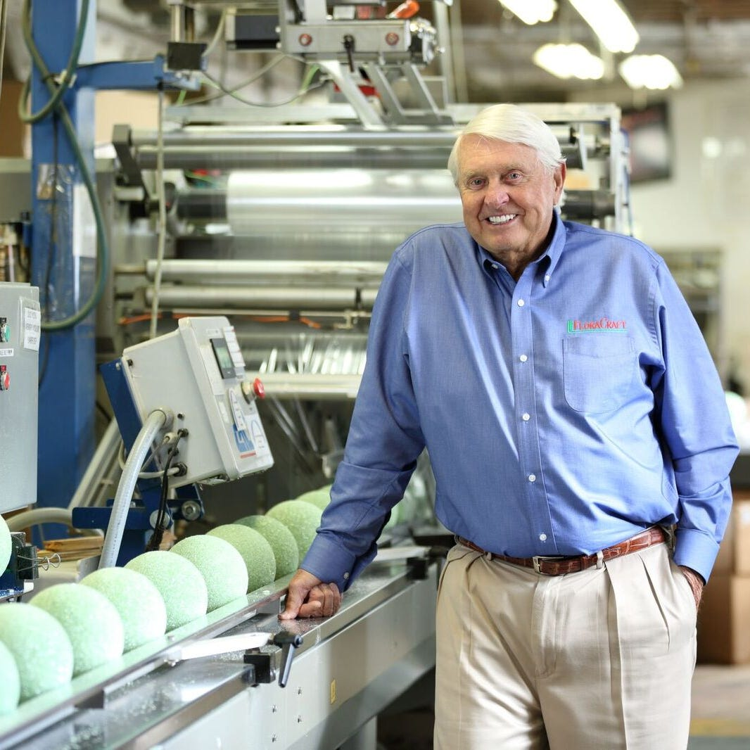FloraCraft's owner and Chairman Lee Schoenherr to...