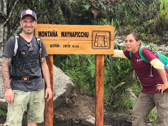 Carla Valpeoz, right, of  Detroit had been traveling in the Cusco and Machu Picchu areas of Peru but has not been in contact with friends or family since Dec. 12, 2018.