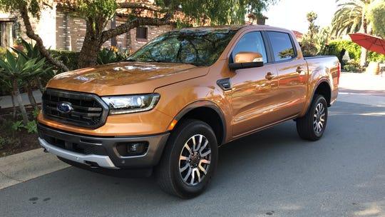 2019 Ford Ranger midsize pickup