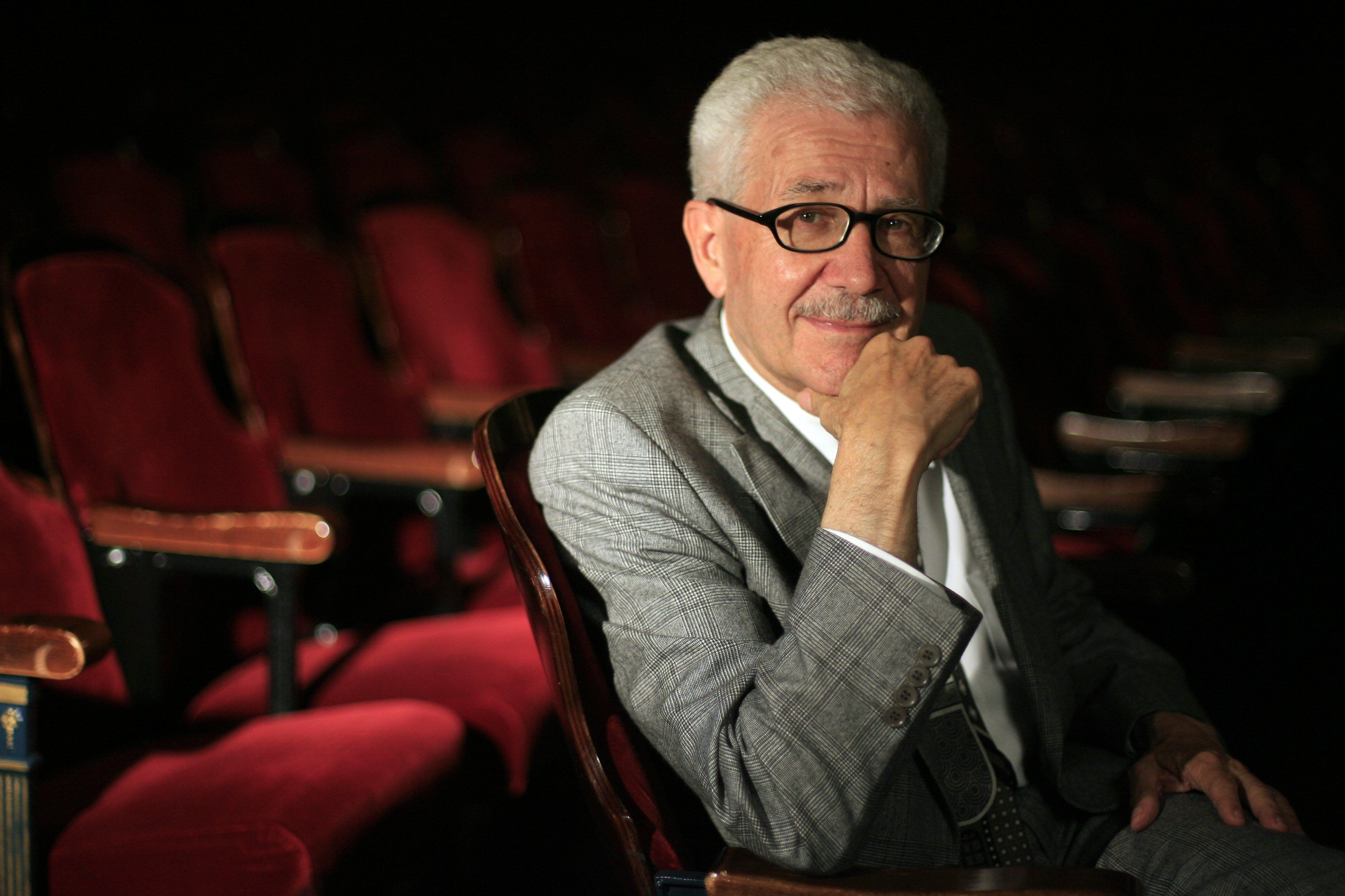 Dr. David DiChiera, founder of the Michigan Opera Theatre, is 2008's recipient of the Neal Shine Regional Cooperation Award. He is photographed in the theatre in September 2008.
