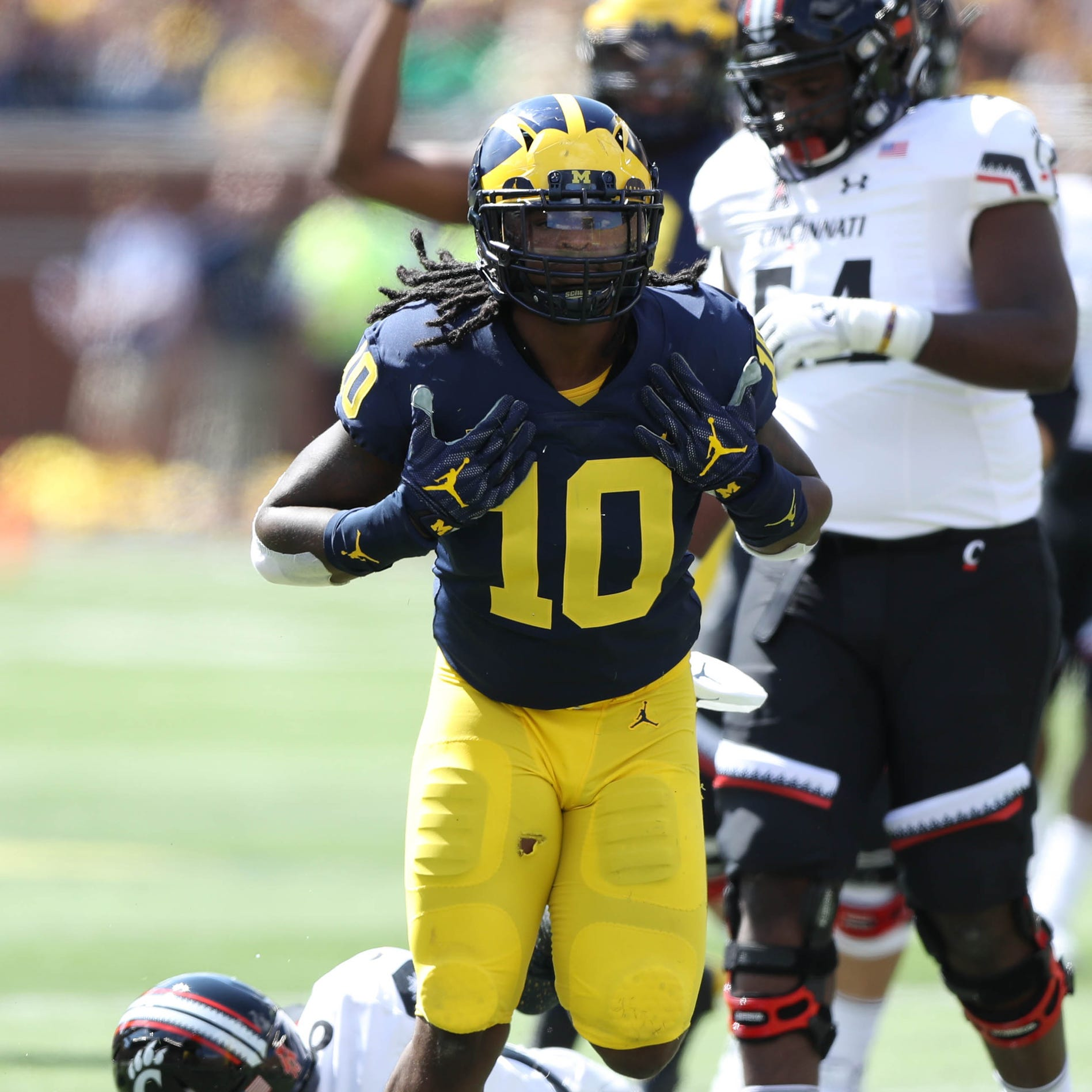 Michigan's Devin Bush Jr. drafted by Pittsburgh Steelers 10th overall