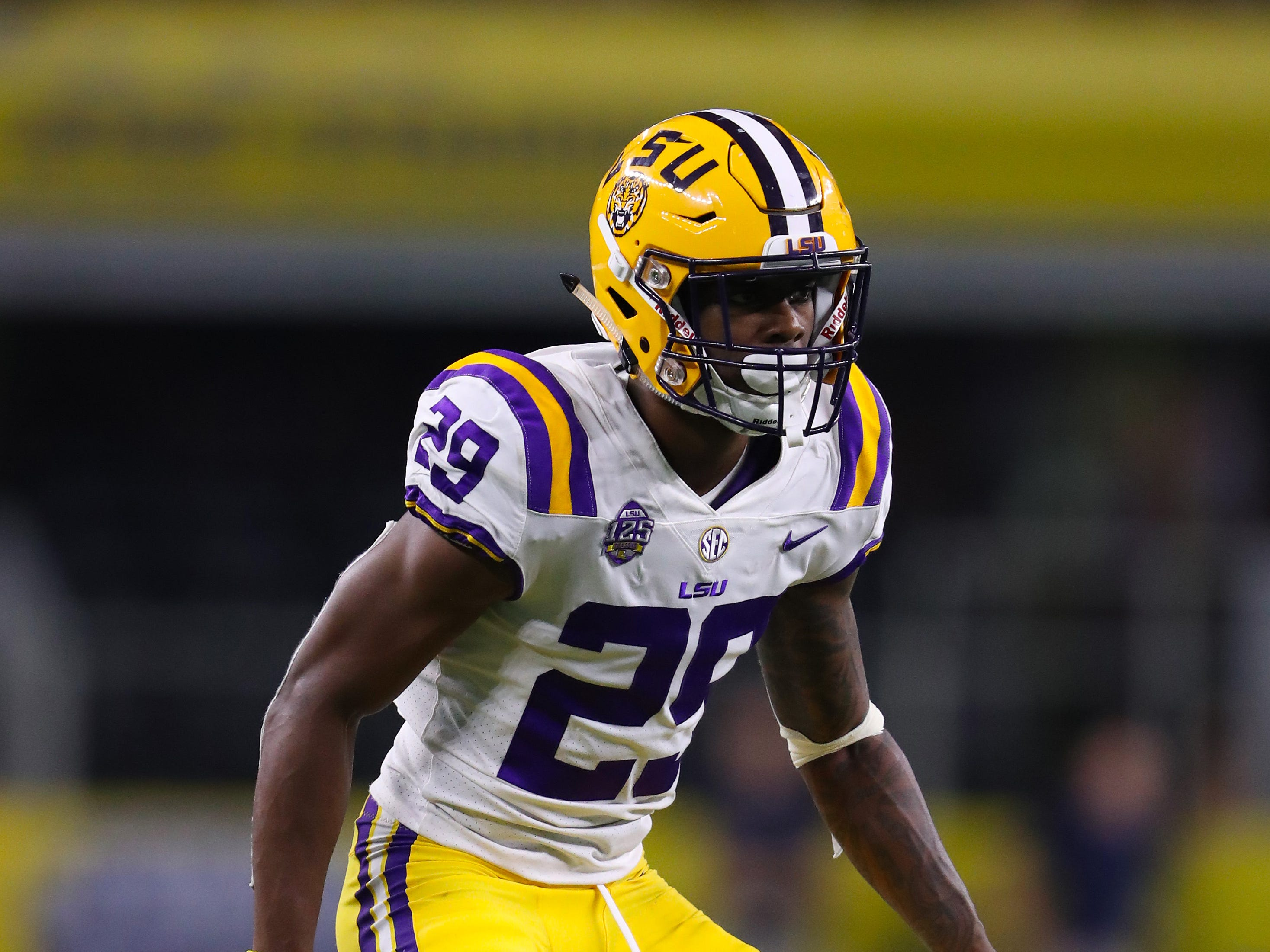 8. Detroit Lions — Greedy Williams, CB, LSU