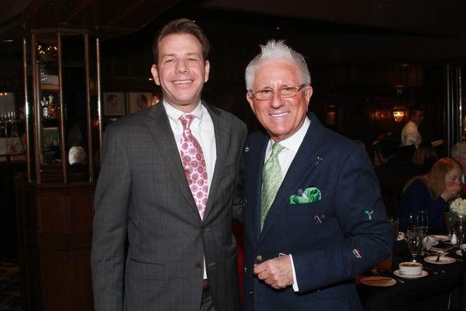 Nico Gatzaros and Tom Schoenith host sign-a-long luncheon at The London Chophouse