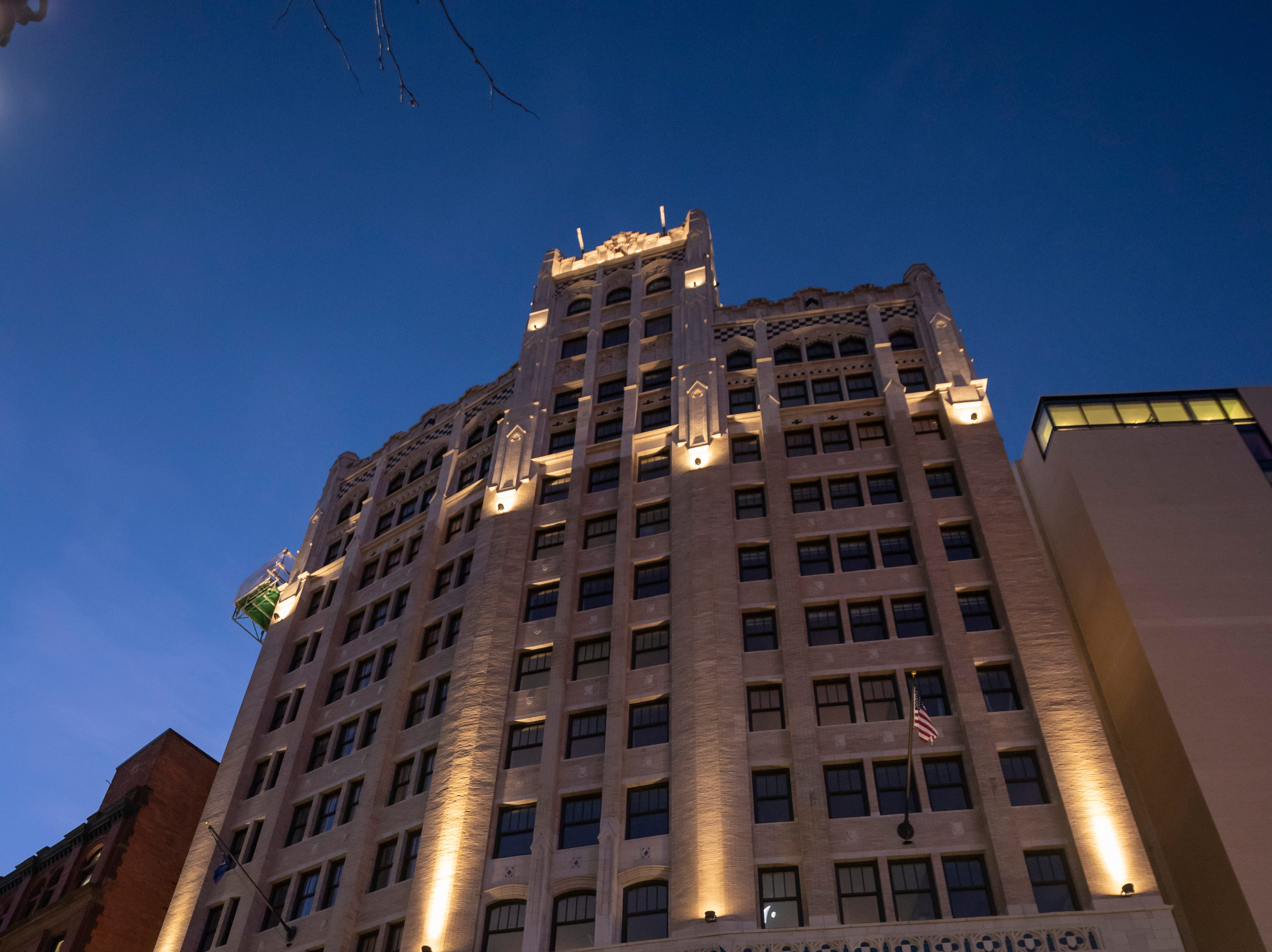 The Metropolitan building in Detroit, December 17, 2018.