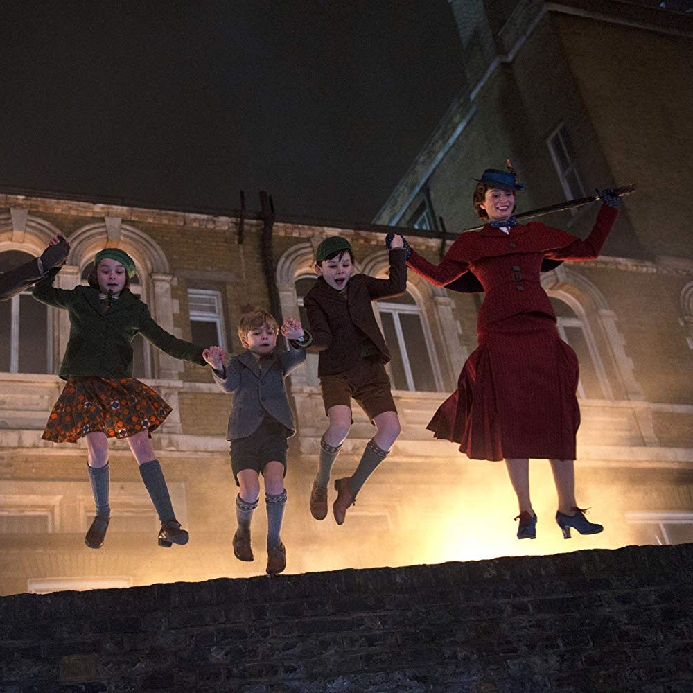 Review: 'Mary Poppins Returns' trips on its light fantastic