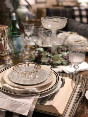 It's time for the vintage china dishes, silver serving pieces and old glassware to bust out of our china cabinets. (Mary Carol Garrity/TNS)