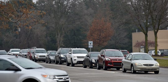 This is traffic at John R. and Avon in Rochester Hills.