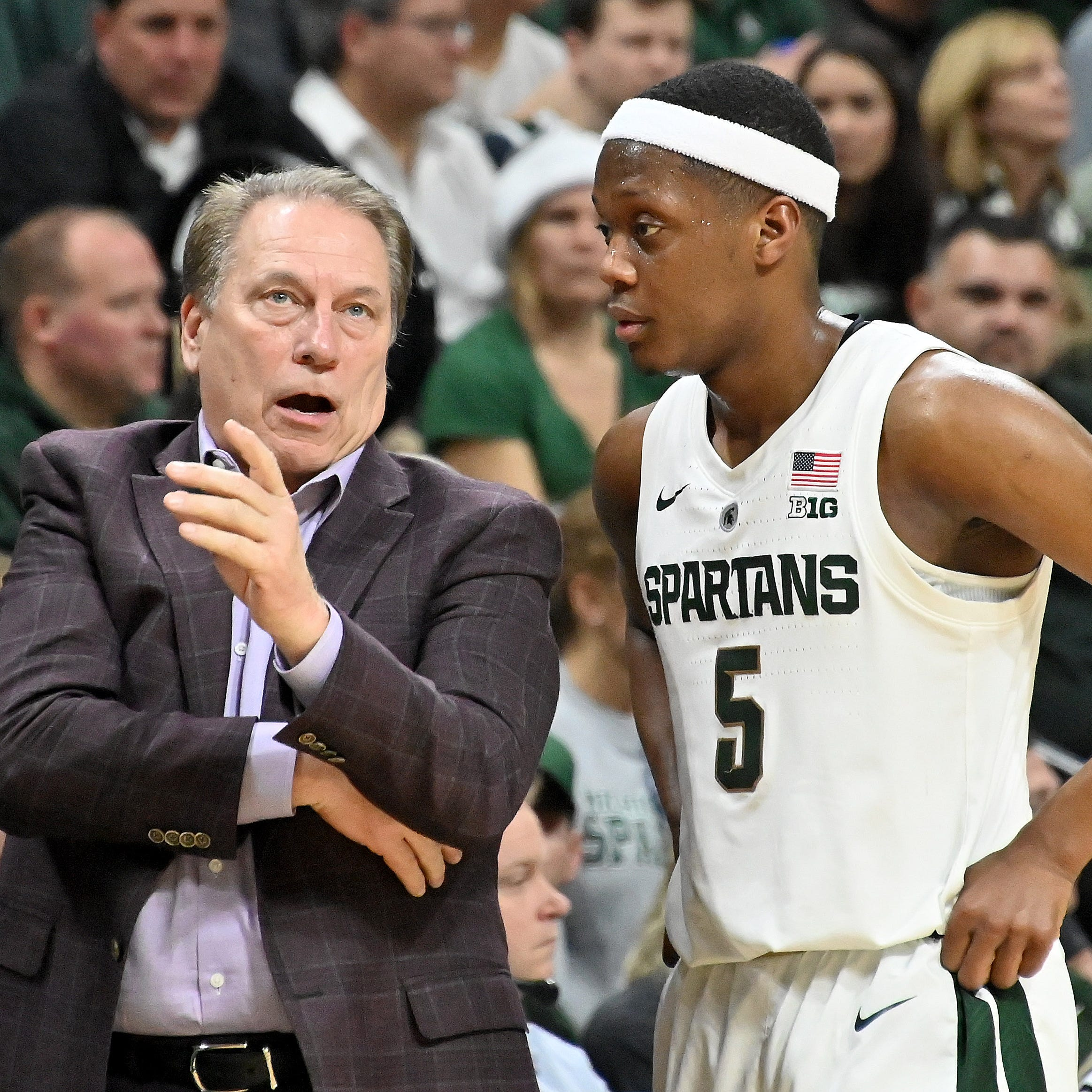 Michigan State's focus this week: 'We're gonna get better'