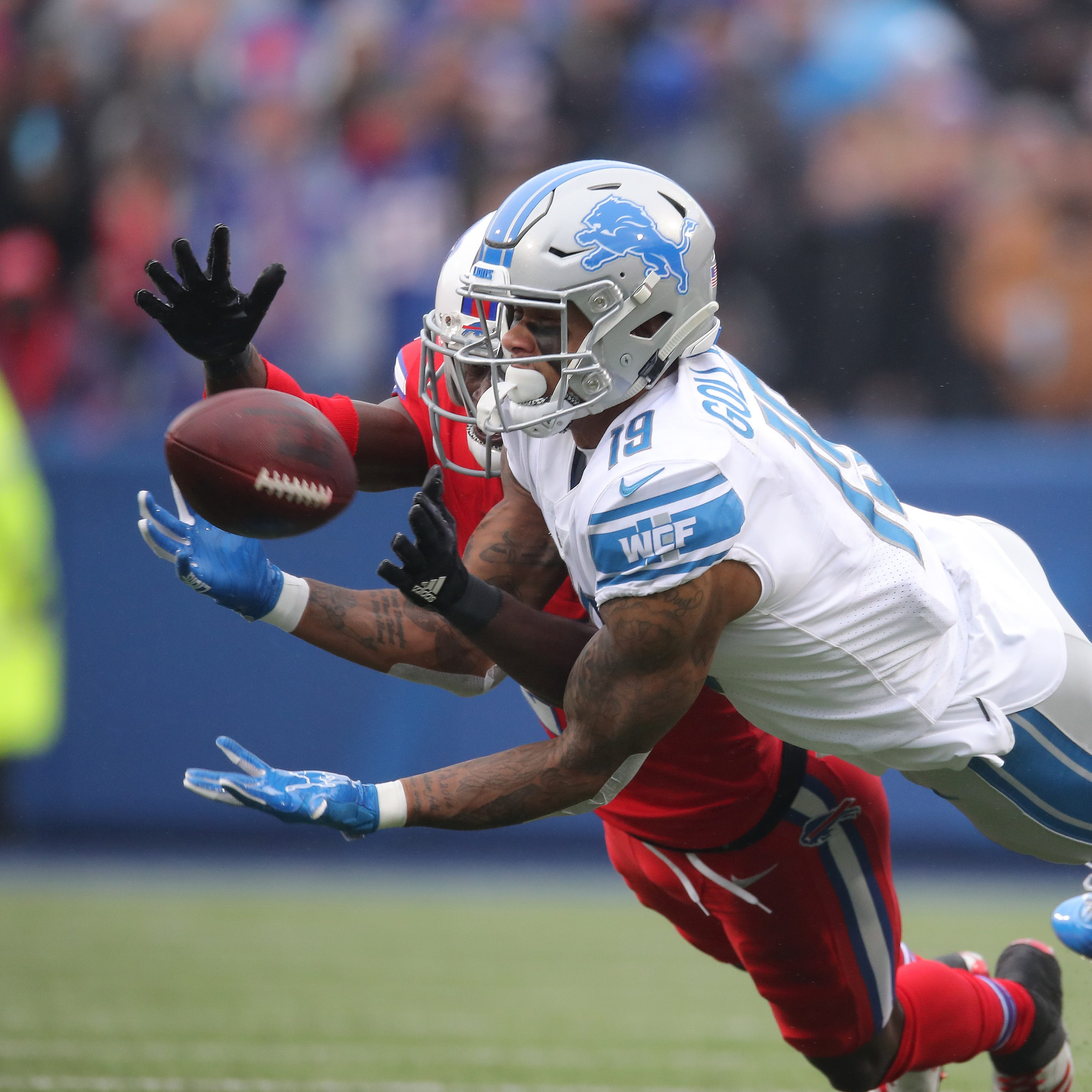 'The sky is the limit': Lions' Golladay emerging as true No. 1 receiver