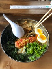 Noodle restaurants were popular in town this year. Ima in Corktown opened a second restaurant in Madison Heights recently. Both serve this lobster udon dish.