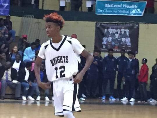 Ja Morant starred at Crestwood High School in Sumter, South Carolina.