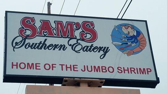 Evansville is the northernmost city boasting a Sam's Southern Eatery, located on Green River Road.