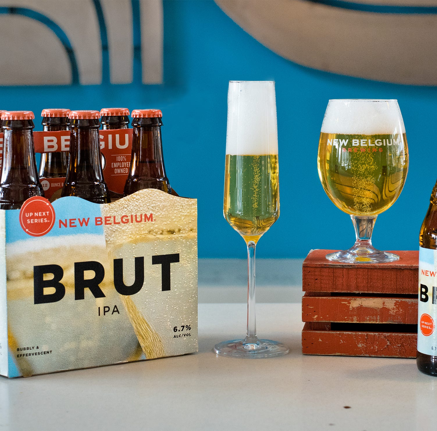 New Belgium makes champagne-inspired beer