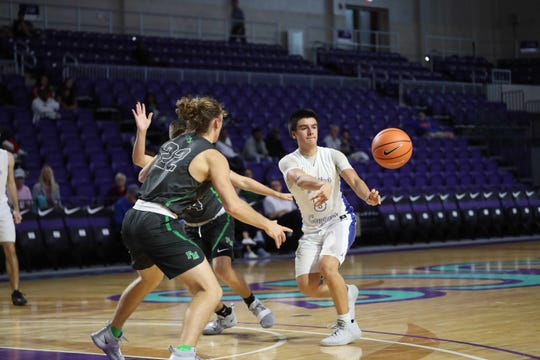 Fort Myers High School beat Canterbury School in the City of Palms Classic tip-off game at Suncoast Credit Union Arena on Monday. The score was 72-60. Fort Myers' Javian McCollum led all scorers with 25 points.